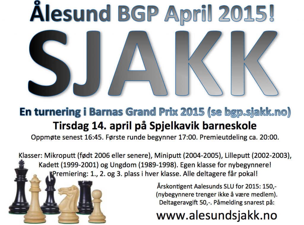 Ålesund BGP April 2015