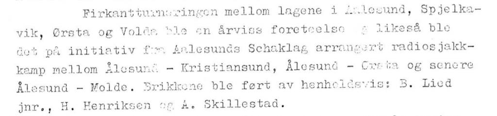 Aalesunds Schaklag 1913 - 1963 - Faksimile3