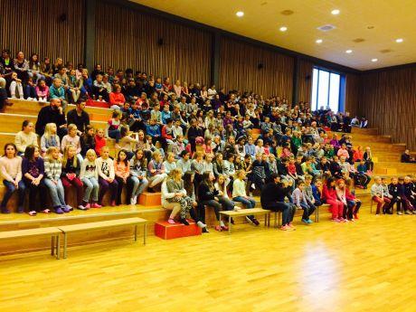 Bilde fra Spjelkavik Barneskole / Stig Johansen