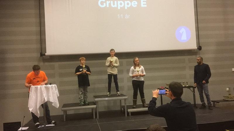 Mathias, Andreas og Linnea