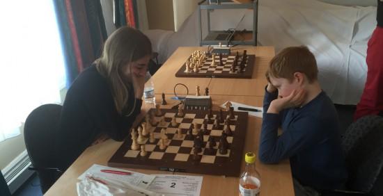 Hanna Kyrkjebø og Mathias Unneland